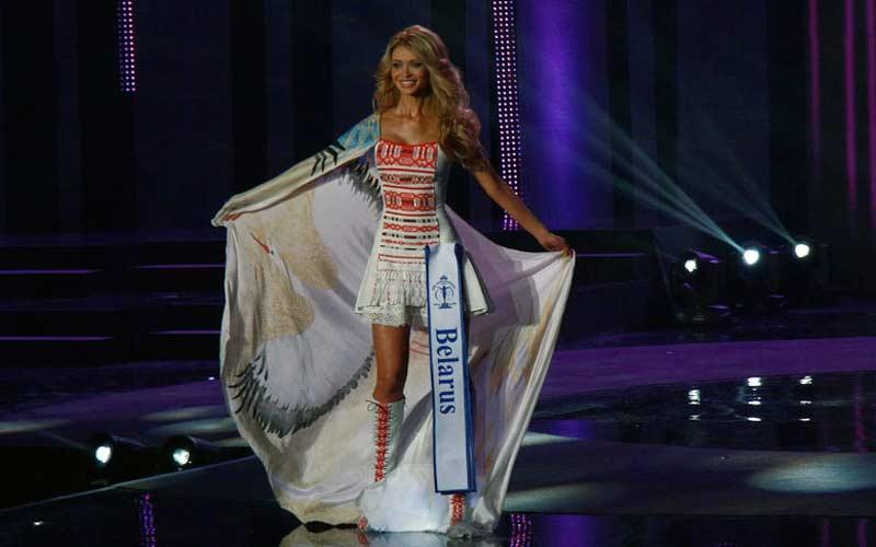 البيلاروسية يكاتيرينا بورايا فازت في مسابقة ملكة جمال Miss Supranational – 2012. صور: ناديجدا تاغان