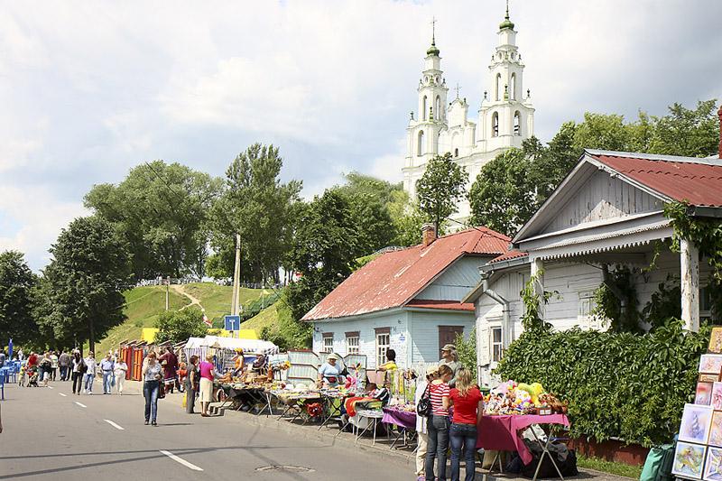 كاتدرائية صوفيا في بولوتسك – نموذج لامع للباروك البيلاروسي الآخير. صور: ألفريد ميكوس.