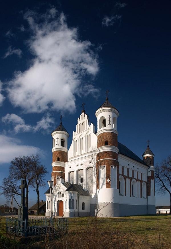 كنيسة المهد في موروفانكا. صور: دميتري بوروفسكي.