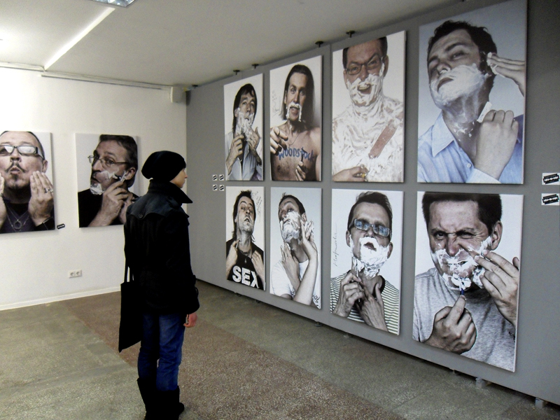 Exhibition in «Y» Gallery. Photo: interfax.by