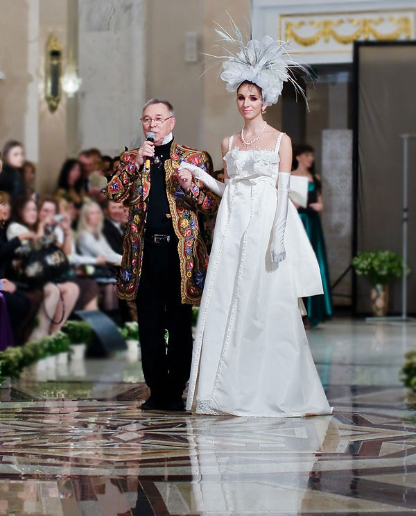 Sfilata di moda Belarus Fashion Week nel Teatro Nazionale. Foto: interfax.by