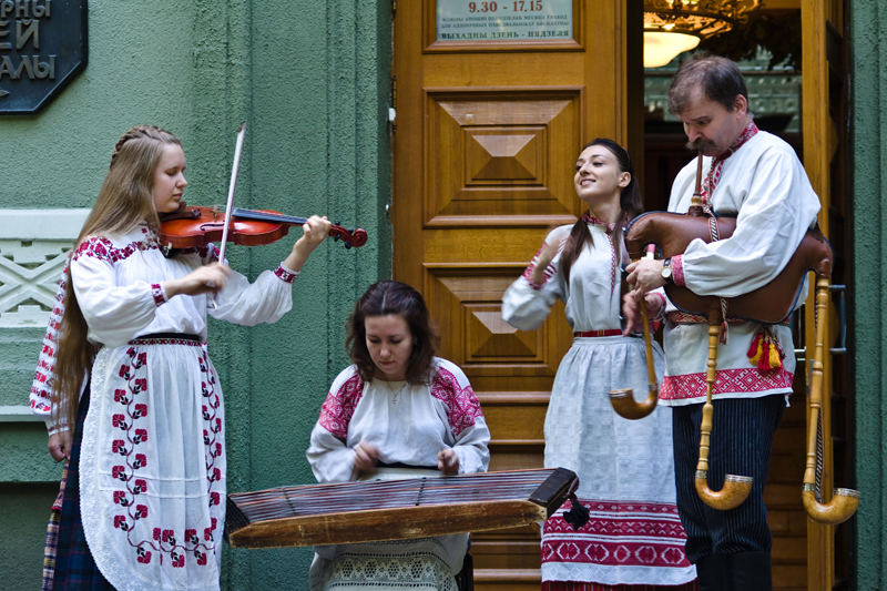 Belarus treats the musical heritage of the country with due care. Photo: Alexei Isachenko