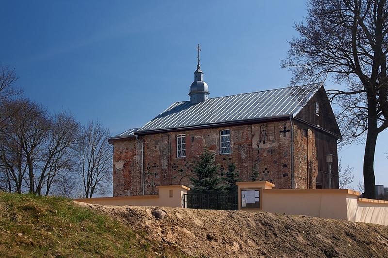 كنيسة بوريسغليبسكايا في غرودنو. صور: دميتري بوروفسكي.