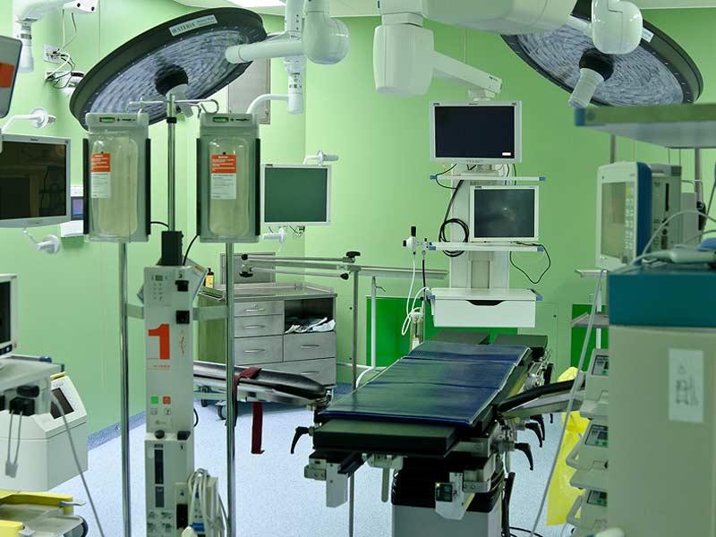 المركز العلمي التطبيفي للرضوض والكسور والجراحة العظمية. صور: أليكسي إيساتشينكو (interfax.by)