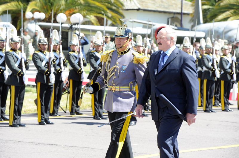 Alexander Lukashenko arrived on his first official visit to Ecuador. Photo Andrei Stasevich (BelTA)
