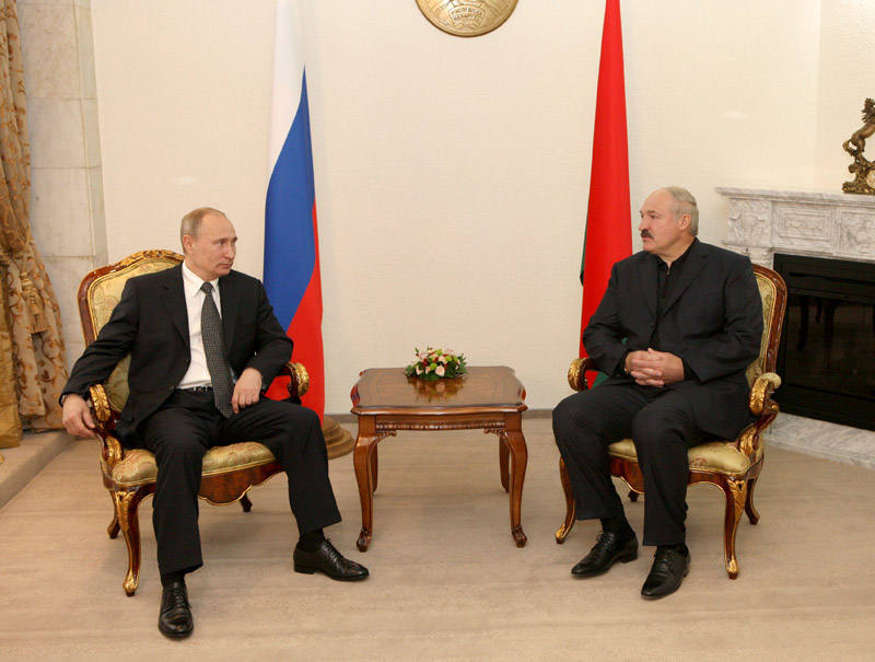 Alexander Lukashenko and Vladimir Putin in Sochi. Photo Andrei Stasevich (BelTA)