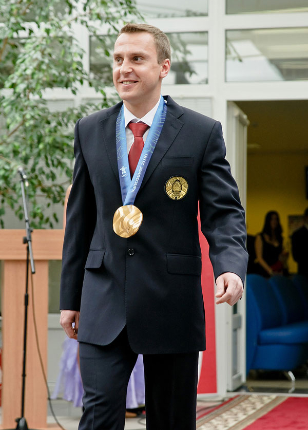 Olympic champion in freestyle Alexei Grishin. Photo: interfax.by.