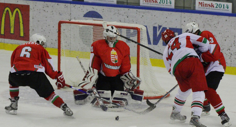 National ice hockey team of Belarus attacks. Photo: interfax.by