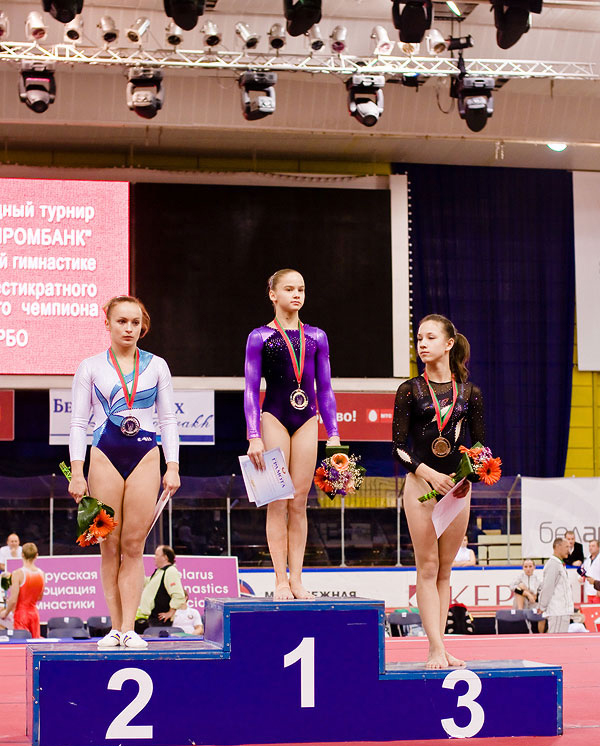 Prize-winners of the tournament for the prizes of Vitaly Scherbo – the unique Belarusian gymnast. Photo: interfax.by.