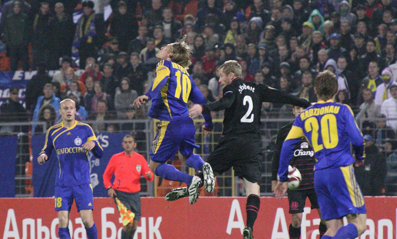 BATE is the most sensational football team of Europe. Photo: interfax.by