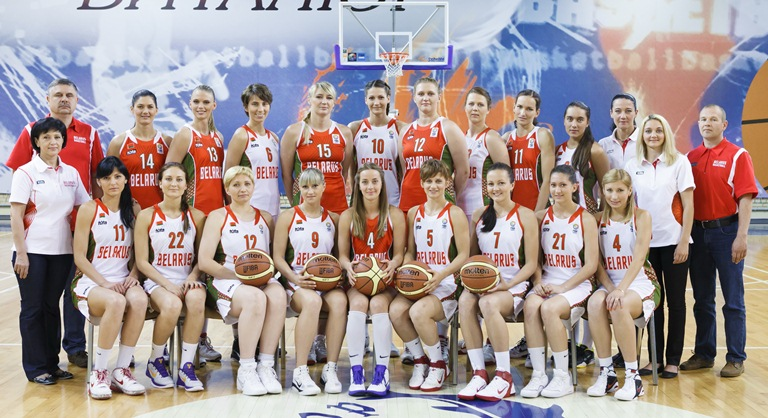 Belarusian national basketball team. Photo by: bbf.by