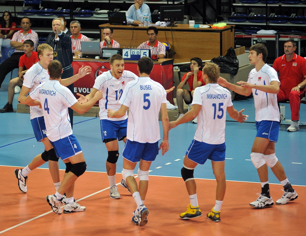 National Volleyball Team of Belarus. Photo by: champ.by